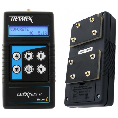 Tramex CMEX2  Concrete Moisture Encounter Expert