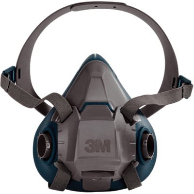 3M Demi-masque de protection en silicone modèle 6502 Medium