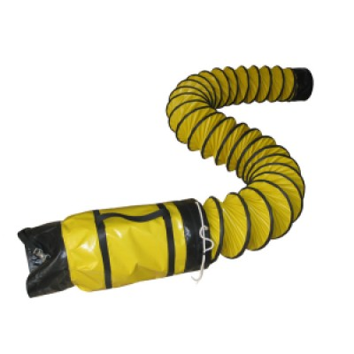Boyau flexible jaune de 12'' x 25'