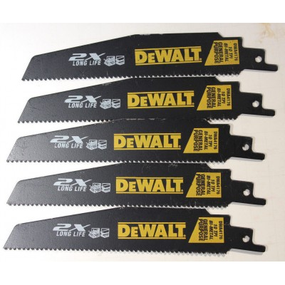Lame de scie alternative 6''  Bi-Metal de Dewalt 2X