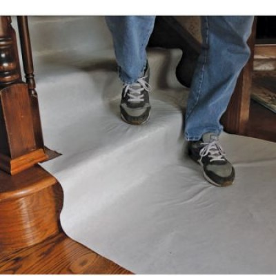 Protection de plancher léger Blanc 36x100